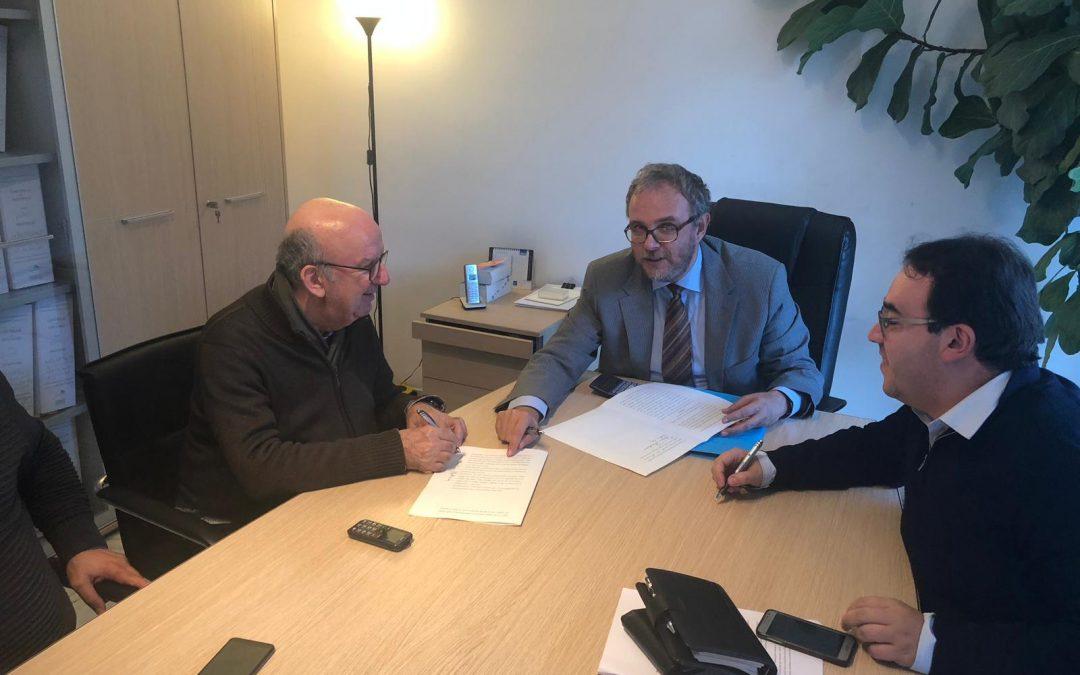 Sanremo 26 novembre 2019. Firmato l'atto di Fusione tra il Csv di Imperia e quello di Savona